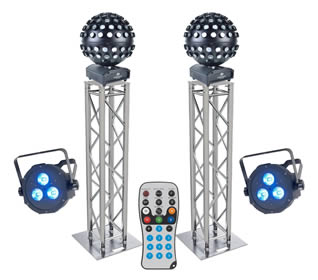Disco Dj Lighting Equipment For Hire In Kent By Silver