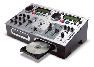 Combined Karaoke Disc CD Player & Mixer for Hire in Kent