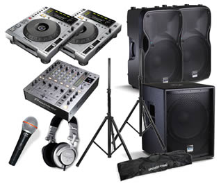 Hire a Club Style Sound Package in Kent