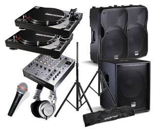 Hire a Vinyl Playout Sound Package in Kent